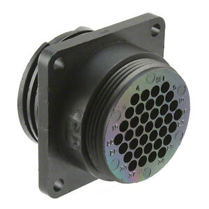 CONNECTOR Amp TE TYCO 206151-1 CPC 37 pin Circular Connector mil-spec military
