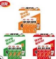 卫龙旗舰店 魔芋爽 Spicy Snack Party Food 18g*20 Box 魔芋丝 辣条零食 素毛肚 香辣小吃 Zsell