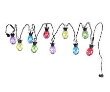 Pineapple String LED Light Set 10 Count LED's Indoor/Outdoor Colorful Novelty