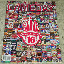 St. Louis Cardinals 16 Year Anniversary Gameday Magazine 2008 Number 2