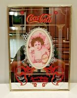 VTG Sign Mirror Delicious Coca-Cola The Most Refreshing Drink in the World