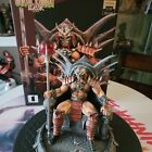 SHAO KAHN Iron Studios 1:10 STATUE Mortal Kombat In Hand For Sale
