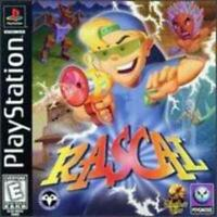 Rascal Playstation 1 Game PS1 Used