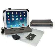 iCoustic 5-In-1 Accessory Pack For iPad Air - Grey - Protect - Charge - Case
