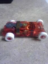 Rare Autoworld Tjet Ultra G Red Limited Edition White Tire Chassis Pin 996 made