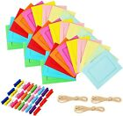 Paper+picture+frames+%2C30+pcs+colorful+paper+photo+fram+4x6+with+3+ropes+for+home