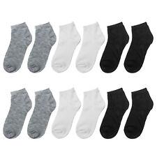 Falari 12 Pairs Boy Socks Girl Socks Toddler Socks Kids Cotton Socks