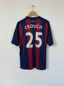 Stoke City 2012 2013 Away Shirt Peter Crouch 25 Size Large 150 Years