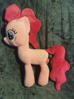 "My Little Pony Pinkie Pie Plush Large 18"" 45cm soft Toy Pink sparkle hair detail"