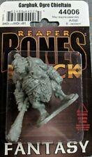 Garghuk Ogre Chieftain Reaper Miniatures Bones Black Monster Melee Club Fighter