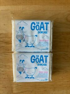 2 X THE GOAT SKIN CARE SOAP BAR ** FOR DRY ITCHY AND SENSITIVE SKIN * CHEAPEST *