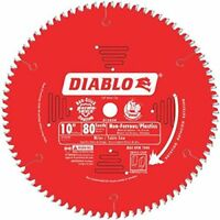 Freud D1080N Diablo 10-Inch 80 Tooth TCG Non-Ferrous Metal and Plastic Cutting S