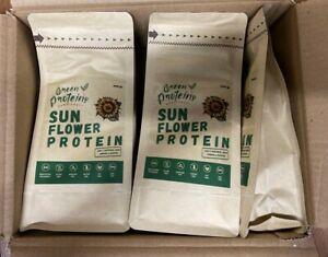Eco natural vegan SUNFLOWER PROTEIN WITHOUT THERMAL AND CHEMICAL TREATMENT