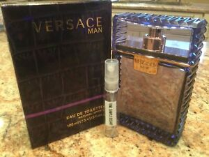 *DISCONTINUED* Versace Man 10ML Authentic Sample