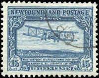 1931 Canada Used Newfoundland 15c VF Scott #180 Pictorial Stamp