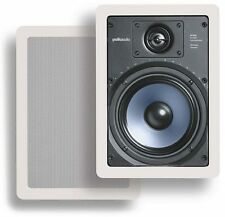 New!! Polk Audio RC-65i In-Wall Speakers (Pair) Use as Mains or Surrounds!!