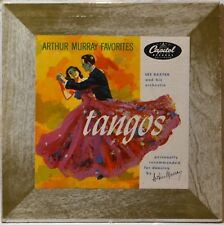 "Les Baxter Arthur Murray Favorites Tangos Latin Jazz Dance 10"" LP Vinyl NicePlay"