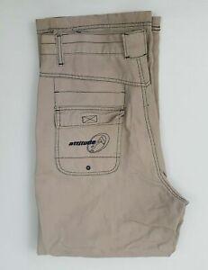 Attitude Mens Cargo Style Pants Sz 82