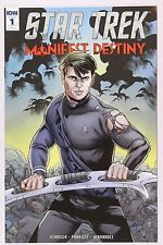 Star Trek: Manifest Destiny 1 - 9.6 NM+ Rachael Stoff Variant Cover RI 1 for 10