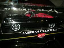 1:18 sun star ford galaxie 500/xl Open Cabriolet Raven Black/Noir Nr 1423 in neuf dans sa boîte