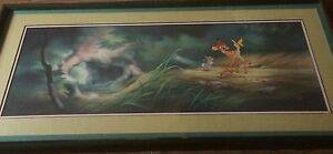 Bambi & Thumper Pan Cel Limited Edition (72/500) Disney Seal