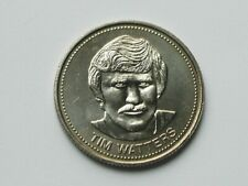 Winnipeg Jets 1984 TIM WATTERS Trade DOLLAR Token with NHL Hockey Player