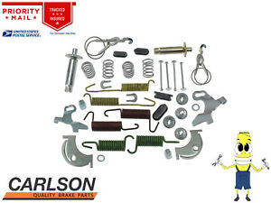 "Complete Rear Brake Drum Hardware Kit for Ford Fairmont 1981-1983 w/ 10"" x 1.75"""