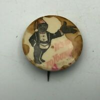 """Vtg Shrizer Fez Its Up To You Now! 1-1/4"""" Button Pin Pinback Bad Condition S4"""