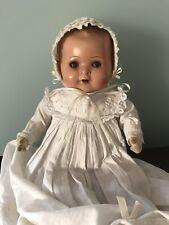 Bambola antica in cartapesta anni 40