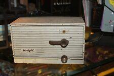 1 Vintage Plastic Mid Century Knight Intercom With Tubes