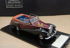 1/43 Royal Rolls-Royce Silver Wraith All - Weather Cabriolet 1959 ,Red /Black