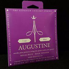 Augustine Regal Blue High Tension Classical Nylon Guitar String Set