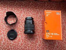 Sony PZ 18-105 mm f/4 G OSS E Lente E Monte para cámara digital SELP 18105G