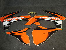 KTM SX/SXF 125-450 2013-2015 Fábrica Fx Racing Naranja/Negro Kit De Gráficos GR1112