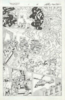 New Mutants Forever #1 p16 by Al Rio, Bob McLeod, Original Comic Art, Marvel