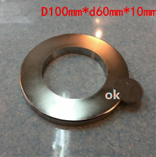 1 Large NEODYMIUM block MAGNET! N52 grade rare earth magnet. Ring  SUPER magnets