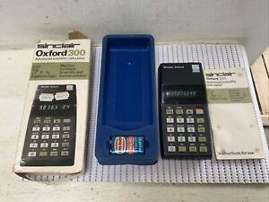 Sinclair Oxford 300 Advianced Scientific Calculator - Vintage. #WE3