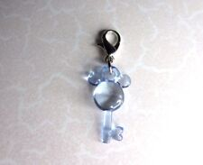 New Disney 's Mickey Mouse - Clip on Blue 3D Key Charm Mother of New Baby Boy