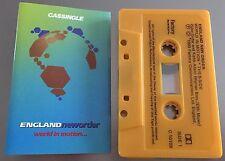 World In Motion ~ ENGLANDNEWORDER (NEW ORDER) Cassingle (Cassette Tape Single)