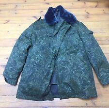 Belarus Army winter Jacket with fur collar EMR PIXEL DIGIFLORA afghanka type