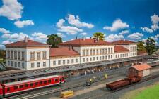 Faller 190297 Bahnhof Friedrichstadt H0 / 1,48 Meter! / Patiniert / Bausatz