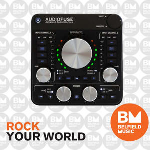 Arturia AudioFuse Rev2 USB Audio Interface (Black) - Brand New - Belfield Music