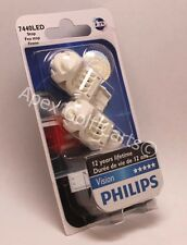 Philips LED Vision W21W 7443 7440 21W 5W ROUGE RED Bulb Brake Stop Rear Light