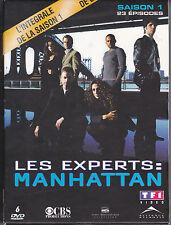 COFFRET 6 DVD 23 ÉPISODES LES EXPERTS MANHATTAN INTÉGRALE SAISON 1 GARY SINISE