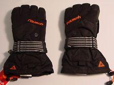 New Reusch Snow Board Gloves DOUBLE Wrist Protection RtexXT Medium 4204204S FLIP
