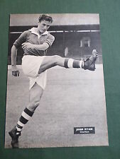 JOHN RYAN - CHARLTON PLAYER-1 PAGE PICTURE - CLIPPING/CUTTING