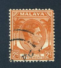 George VI (1936-1952) Postages Settlements Stamps