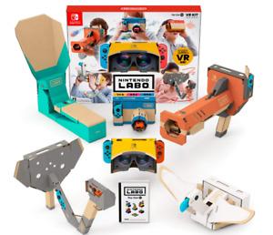 Nintendo Labo Toy-Con 04 VR Kit Japan NEW NIntendo Switch