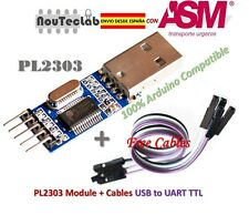 PL2303 USB To RS232 TTL Converter Adapter Module PL2303HX + Cable