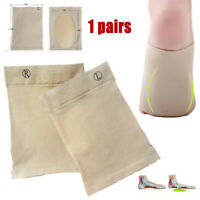 2PCS Arch Support Gel Orthotic Insole Plantar Fasciitis Foot Sleeve Cushion Pad
